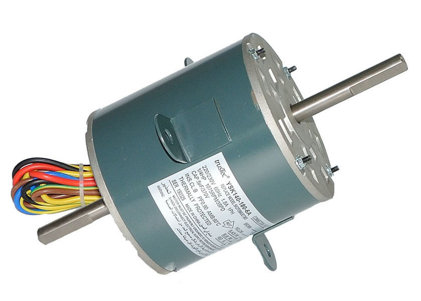 Central Air Conditioner Fan Motor Single Speed Reversible Rotation